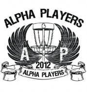 Alpha Players Disc Golf Club logo