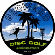 Broward Disc Golf Association (BDGA) logo