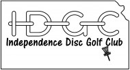 Independence Disc Golf Club logo