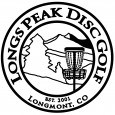 Long's Peak Disc Golf Club logo