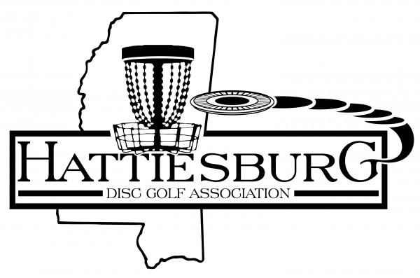 Hattiesburg Disc Golf Association logo