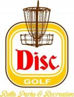 Rolla (MO) Parks & Recreation Disc Golf logo