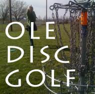OLE Disc Golf logo
