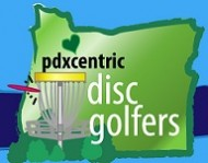 PDXCentric Disc Golfers logo