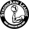 Strongarm League of Elkton Disc Golf Enthusiasts logo