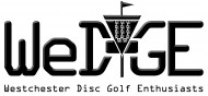WEDGE - Westchester Disc Golf Enthusiasts logo