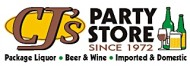 CJ's Party Store logo