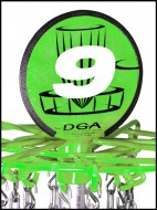 Front 9 Disc Golf logo
