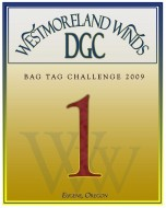 Westmoreland Disc Golf Club logo
