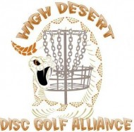 High Desert Disc Golf Alliance logo