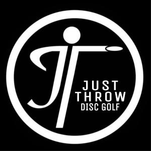 Just Throw Disc Golf logo