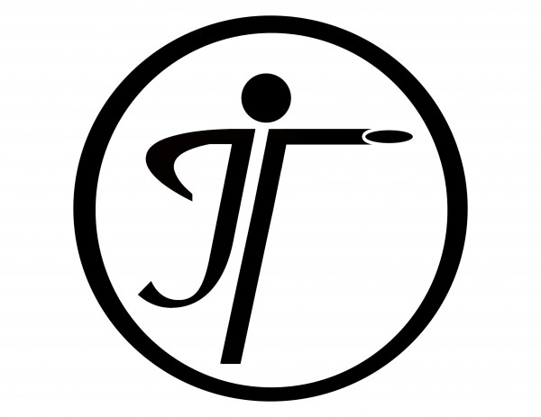 Just Throw Disc Golf logo