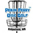 Pekin Ferry Disc Golf logo