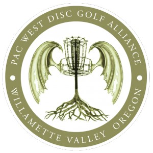 Pac-West Disc Golf Alliance logo