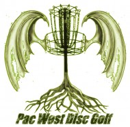 Pac-West Disc Golf Alliance logo