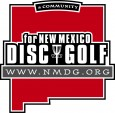 New Mexico Disc Golf (NMDG) logo