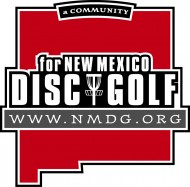 New Mexico Disc Golf (NMDG) logo