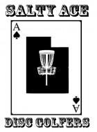 Salty Ace Disc Golfers logo
