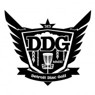 Detroit Disc Golf logo