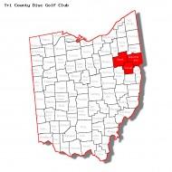 Tri County Disc Golf Club logo