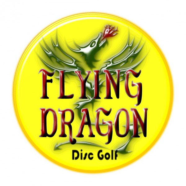 Morgan County Flying Dragon Disc Golf Club. logo