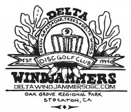 Delta Windjammers Disc Golf Club logo