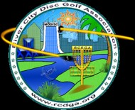 River Citry Disc Golf Association logo