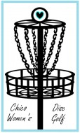 Chico Area Women's Disc Golf logo
