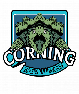 Corning 20%'ers logo