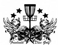 Freeland Disc Golf Club logo