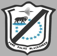Fore Palms Black Sheep logo
