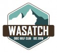 Wasatch Disc Golf Club logo