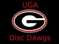 UGA Disc Dawgs logo