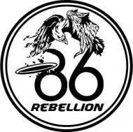 The 86 Rebellion logo