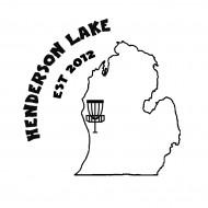Henderson Lake Disc Golf logo