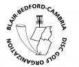 Blair-Bedford-Cambria Disc Golf Organization logo