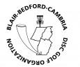 Blair-Bedford-Cambria Disc Golf Organization logo