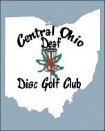 Central Ohio Deaf Disc Golf Club logo