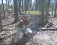 Marysville Disc Golf logo