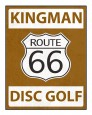 Kingman Disc Golf Club logo
