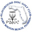 * Playground Disc Golf Club * logo
