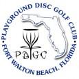 * Playground Disc Golf Club * logo