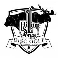 Hilltop Ski Area Disc Golf logo
