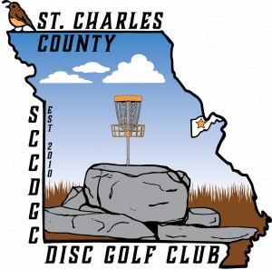 St. Charles County Disc Golf Club logo
