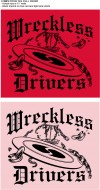 Wreckless Drivers logo