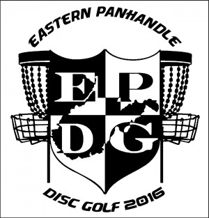 Eastern Panhandle Disc Golf (EPDG) logo