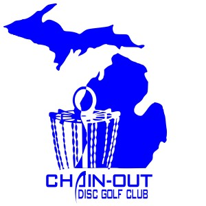 Chain-Out Disc Golf Club logo