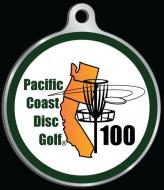 Pacific Coast Disc Golf logo