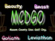 Mason County Disc Golf Org. logo