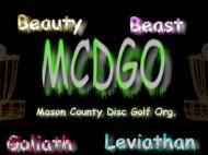 Mason County Disc Golf Org. logo
